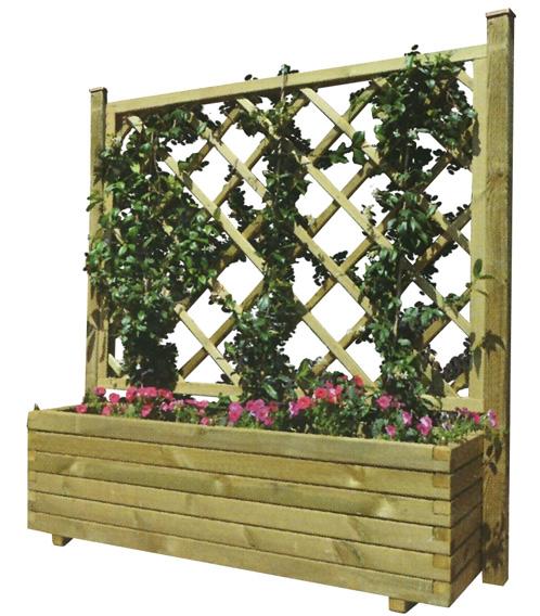 Ящики декоративные деревянные для цветов 71